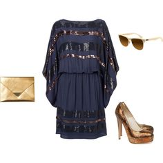 night out, created by amber-sparks on Polyvore