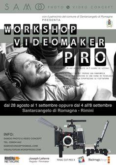 Una grande occasione per registi, videomaker o aspiranti tali! Tutto questo sarà possibile grazie ad una esclusiva patnership nata fra SAMOO concept , OFFICINE ARTISTICHE ROMA , Riviera-network
