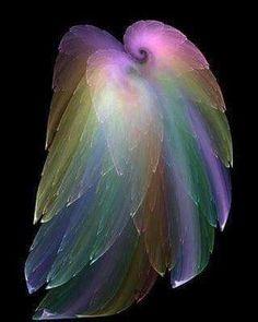 Cloak of Feathers by Gossimer (Russ Schmidt) Cloak of Feathers by Gossimer Digital Art / Fractal Angels Among Us, I Believe In Angels, Angel Pictures, Beautiful Angels Pictures, Guardian Angels, Wow Art, Angel Art, Angel Wings, Fairy Wings