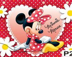 Painel Minnie Vermelha - Festa Infantil