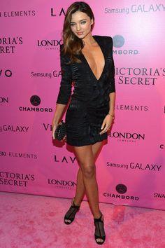 Asi fue el desfile de Victoria´s Secret 2012: Miranda Kerra de Balmain