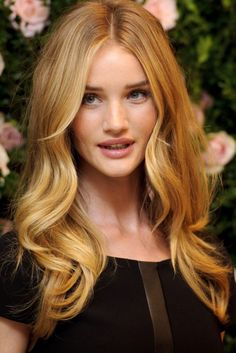 Красивый светлый цвет волос