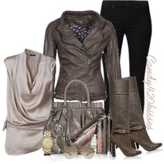 Cool neutral gray (taupe) for Summer types.