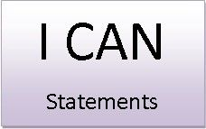 I CAN !!   Free Kid-Friendly CCSS I CAN Statements for all grades - K through 12th grade high school.