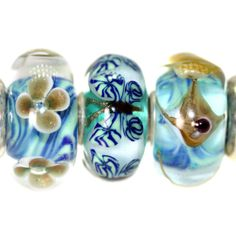 Trollbeads Gallery - A very special trio with critter beads no longer being made!  http://www.trollbeadsgallery.com/twins-trios-314/
