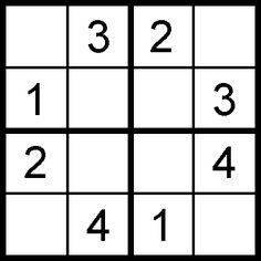 Free Sudoku puzzle print outs