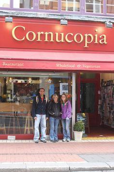 Cornucopia Wholefood & Vegetarian Restaurant Dublin, Ireland