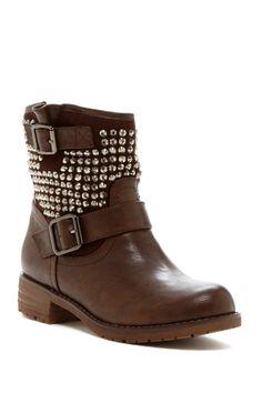 Pinky Jayda Crystal Embellished Boots <3