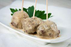 Gluten-Free, Dairy-Free Swedish Meatballs. #food #gluten_free #meatballs #appetizers