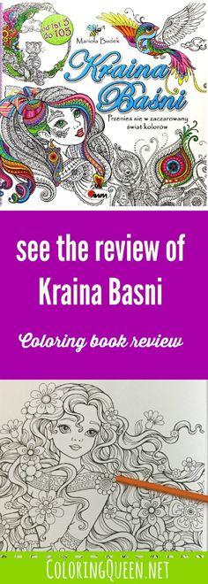 Kraina Basni Coloring Book Review