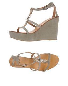 Jfk sandali donna Grigio chiaro  ad Euro 135.00 in #Jfk #Donna calzature sandali