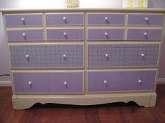 Mod Podged dresser