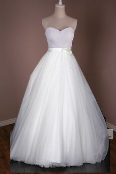 MS219 custom wedding dress convertible 2 in 1 gown