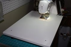 christophernejman: Make A Sewing Machine Extension Table