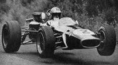 Flying Formula 1 Car
