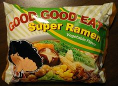 #741: Wei Lih Good Good Eat Super Ramen Vegetable Flavor