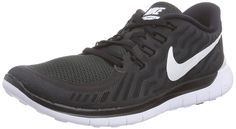 Nike Free 5.0 Sz 7 Mens Running Shoes Black New In Box Free Running Shoes, 5e5d134629
