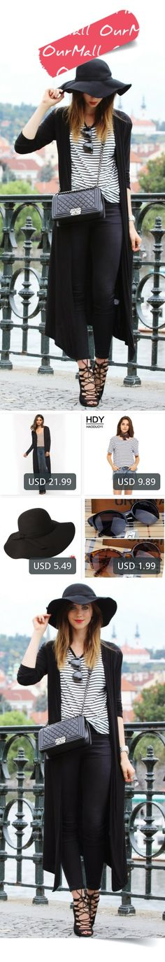 This is Barbora Ondrackova's buyer show in OurMall;  1.Long Cardigan Women 2017 Spring Autumn New Casual Big Size Long Sleeve Cardigan Female 2.Stripe Fashion Women T-shirt Black Contrast White O Neck Casual Tops Streetwear 3.Fashion Summer fashion fedoras vintage pure Women's Beac... please click the picture for detail. http://ourmall.com/?f6Z7be