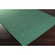 Hand-Woven Bernie Solid Wool Area Rug (2' x 3') (