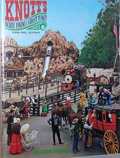 Knott's Berry Farm, CA  We panned for gold here in the 70's.  Was just as much fun as Disneyland at the time.