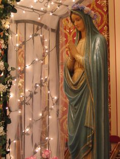 Blessed Virgin Mary at St. Mary's Catholic Church of the Maternity, Wilkes-Barre, Pennslyvania