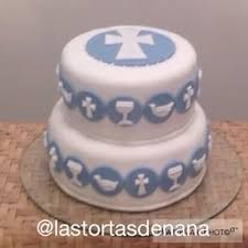 Resultado de imagen de tortas primera comunion varon Bautizo Cakes, Religious Cakes, Confirmation Cakes, Communion Cakes, First Holy Communion, Cake Designs, Cupcake Cakes, Cake Decorating, Ideas Decoración