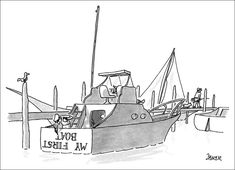 My First Boat by Jack Ziegler
