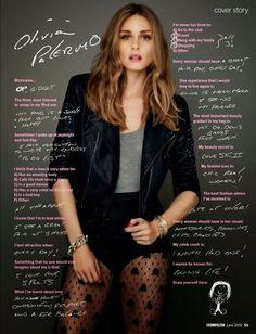 The Olivia Palermo Lookbook : Olivia Palermo For Cosmopolitan Australia, June 2015