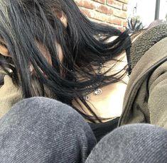 Aesthetic Girl, Aesthetic Clothes, Gray Aesthetic, Girls In Love, Pretty Girls, Emo Scene, Photo Dump, Hair Inspo, Alter