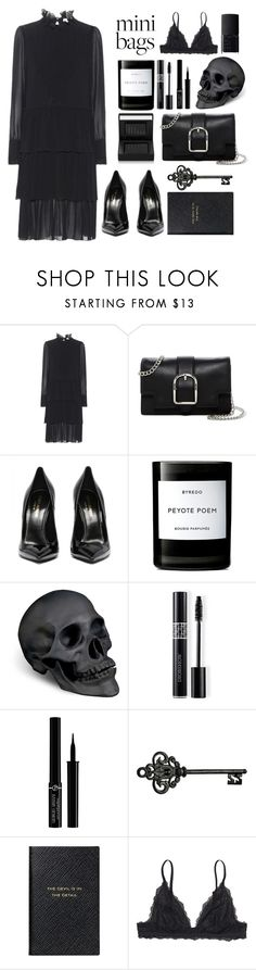 """""""The Devil Is In The Detail"""" by arwitaa ❤ liked on Polyvore featuring See by Chloé, Anne Klein, Byredo, L'Objet, Christian Dior, Giorgio Armani, Smythson, Monki and NARS Cosmetics"""