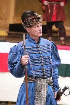 Costume of Polish szlachta (nobility) from c. 17th-18th centuries. Fot. Zagończykowa Kompanija.