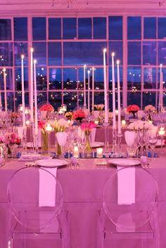 Iluminacao rosa