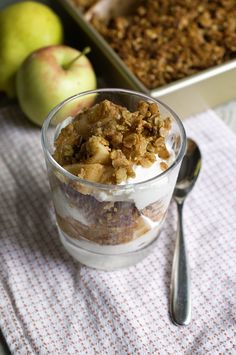 Pear + Apple Breakfast Granola Crisp + 5 Feel Good Fall Breakfast ...