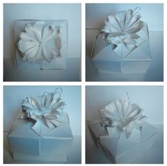 This origami box is a variation of one of the Tomoko Fuse boxes, the variation is designed by me. I called Angel Orchid because from the top you can see the Orchid but from the side you can see the angel shape. It looks like the Cattleya Little Angel Orchid (I'll share the picture later). It took me a couple of days to polish the final design, but here it is!.  #Angel #White #Flower #Orchid #box #Bridesmaid #Wedding #Love #Cute #Beautiful #Origami #Paper #Selfmade #Me #Like #followme #Follow