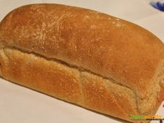 Pane semintegrale in cassetta  #ricette #food #recipes