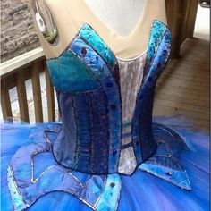Travis Halsey's newest bodice design!  19-pieces.   Pattern available At TutuSchool in Charlotte and NYC this summer!  Available to general public in September 2012.