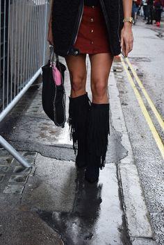 London Fashion Week | Street Style
