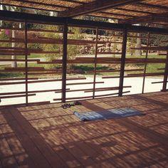 Yoga space idea