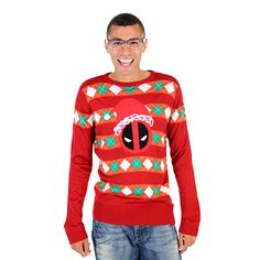 Red Ugly Christmas Sweatshirt 36121 | Ugly Christmas Sweater ...
