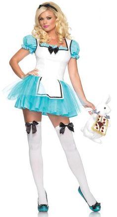 Adult Enchanted Alice in Wonderland Costume