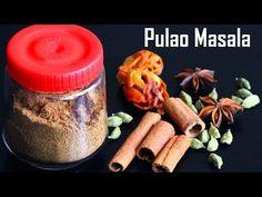Pulao Masala Recipe-Homemade Pulav masala - Foodvedam Masala Powder Recipe, Masala Recipe, Briyani Recipe, How To Make Samosas, Masala Spice, Flavored Rice, Spice Blends, Biryani, Telugu
