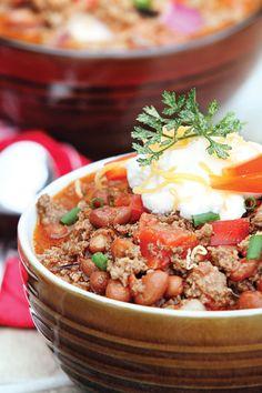Chunky Crock-Pot Chili | Capper's Farmer Food