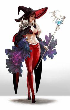 Ведьмами fantasy warrior, fantasy ženy, dívka z fantazie, charakteristický design Fantasy Girl, Fantasy Witch, Chica Fantasy, Witch Art, Fantasy Warrior, Fantasy Women, Female Character Design, Character Design References, Character Design Inspiration