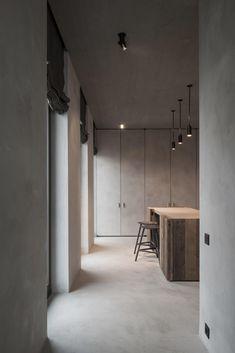 Vincent Van Duysen, Koen Van Damme · C Penthouse - Rustic Home Interior Exterior, Home Interior Design, Interior Architecture, Interior Colors, Interior Plants, Van Damme, Vincent Van Duysen, Urban Loft, Southern Homes