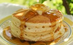 Made these tis morning, good recipe.  Granny's Feather-light pancakes.