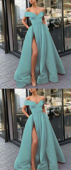 2019 A-Line Elegant Blue Charming Free Custom Long Women Formal Prom Dresse,Evening Gowns with Split , 2019 A-Line Elegant Blue Charming Free Custom Long Women Formal Prom Dresse,Evening Gowns with Split , - Prom Dresses Design Cute Prom Dresses, Prom Dresses For Teens, Prom Dresses Online, Trendy Dresses, Elegant Dresses, Beautiful Dresses, Fashion Dresses, Casual Dresses, Glamouröse Outfits