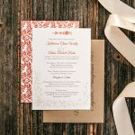 Rustic Chic Wedding Invites, Lauxmont Farms, Lancaster Weddings  {Queen Bee Paperie}