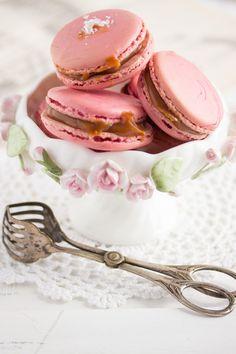 """""""Macarons mit Fleur de Sel Karamell!""""  www.lisbeths.de"""