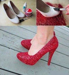 What to do with an old pair of shoes