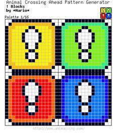 Mario Bros. Color *!*-Blocks_Palette 1/16